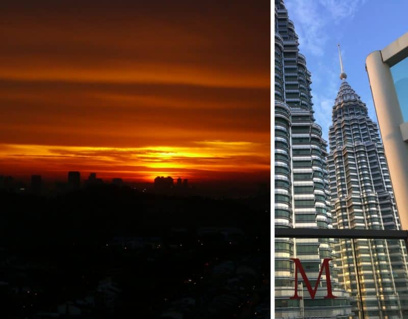Drinks with views in KL - where to drink in KL