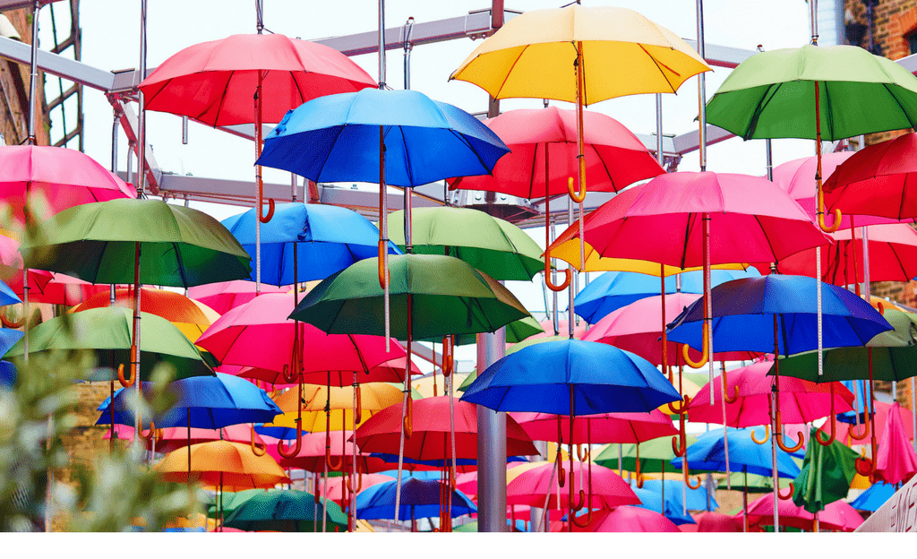 what to pack for london umbrellas