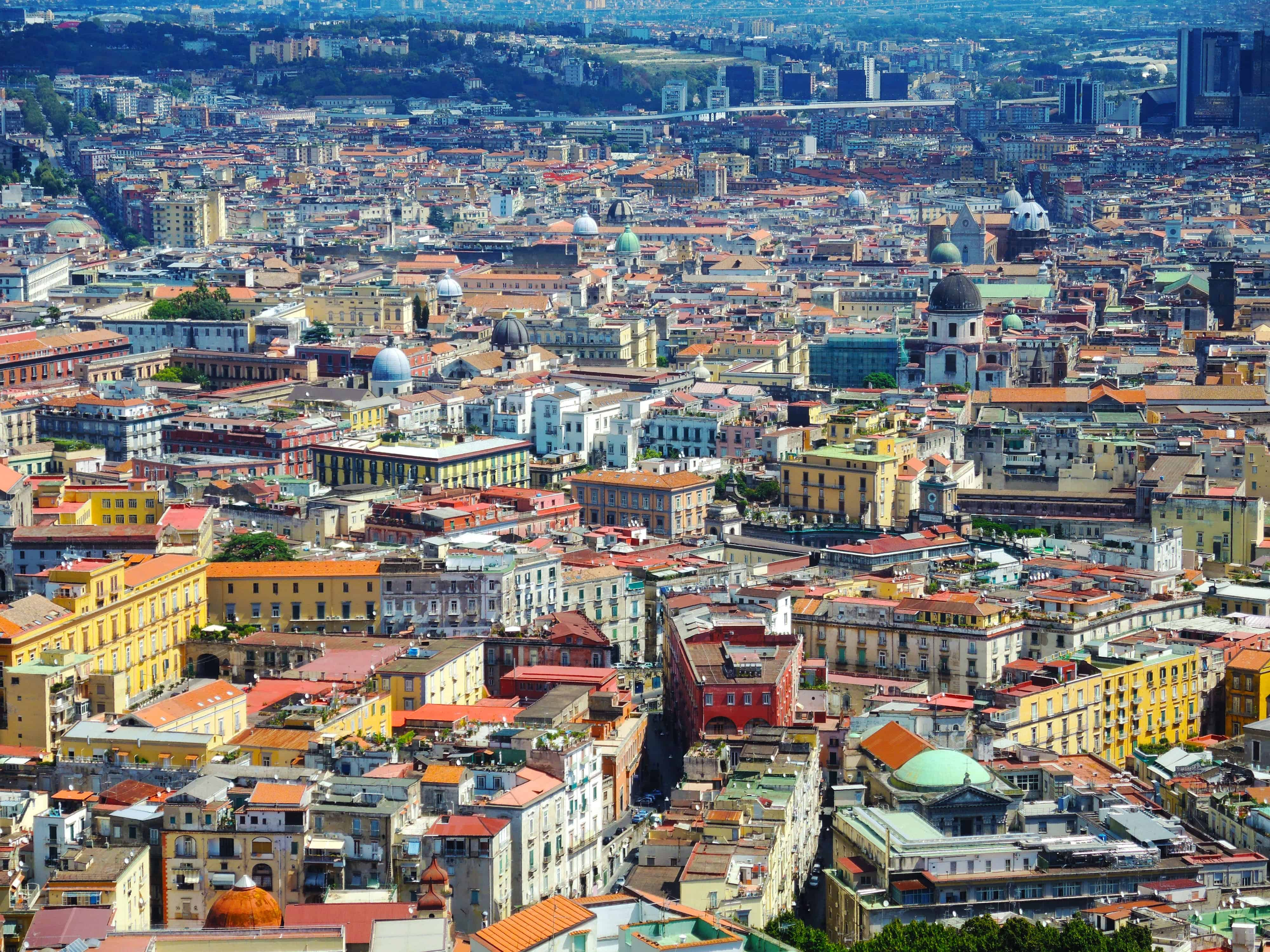 Naples - biggest city in southern Italy