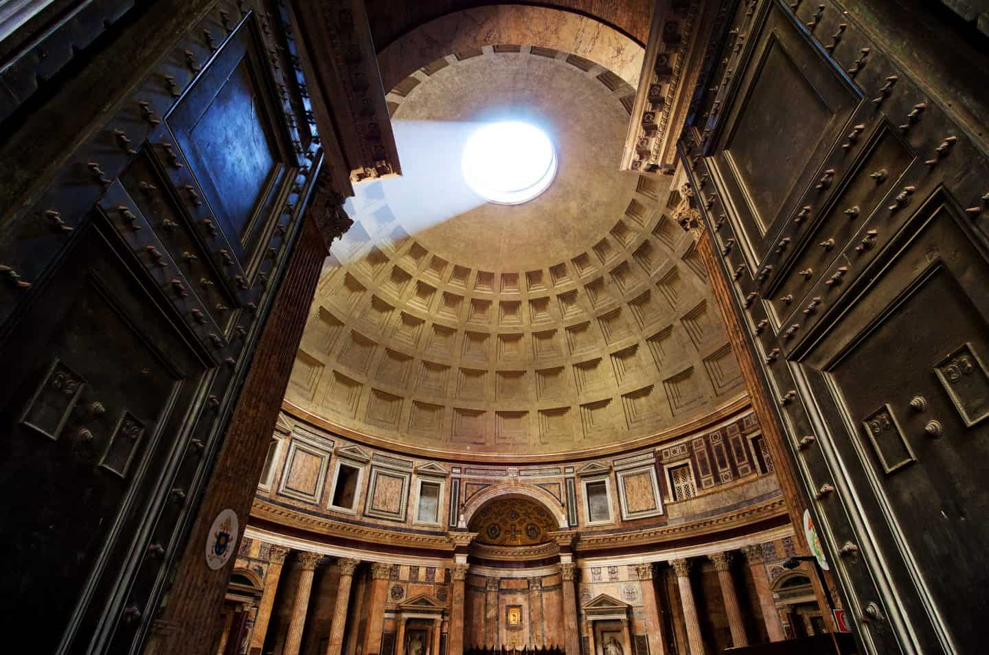 pantheon rome walking tour