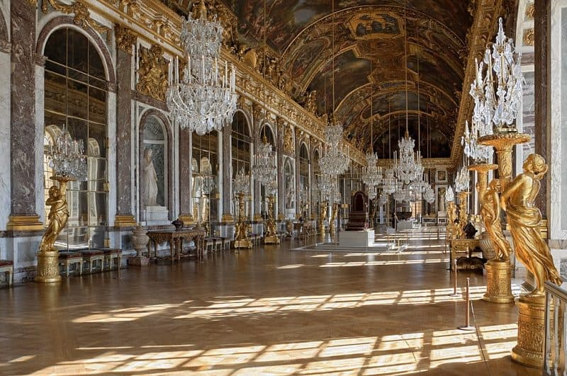 Hall of Mirrors Galerie des Glaces Versailles