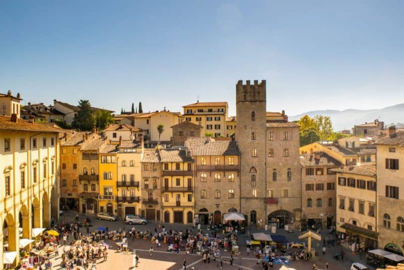 Arezzo - most beautiful towns in Tuscany