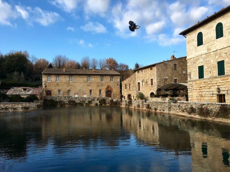 Bagno Vignoni - best villages in tuscany