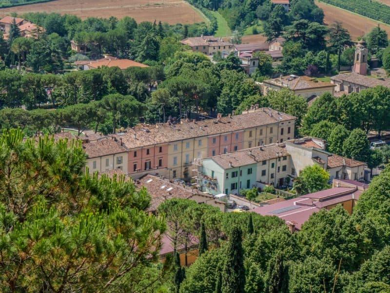 brisighella - little towns in italy