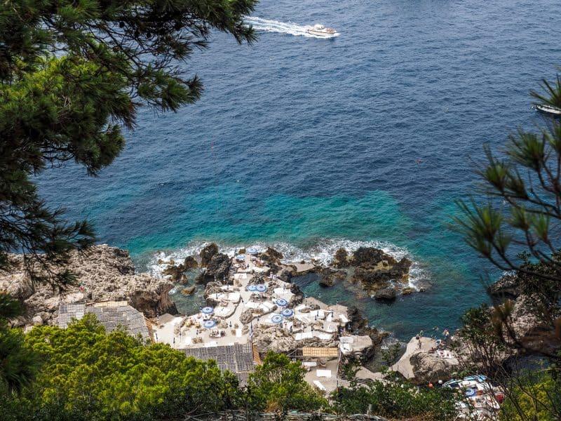 capri beautiful towns in italy