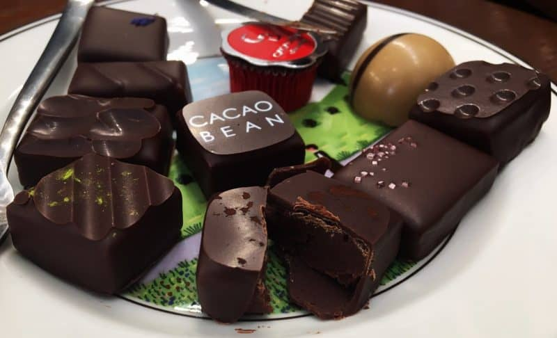 Things to eat in Seoul - Gangnam- cacao bean chocolatier -