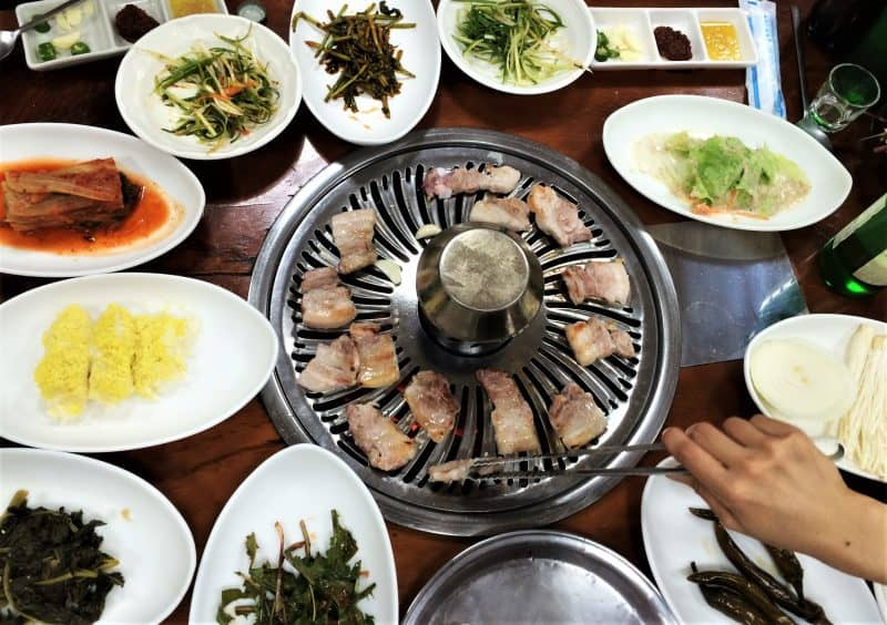 seoul korean bbq - where to eat in seoul