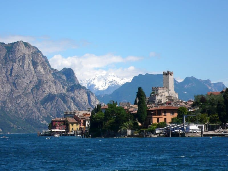 best towns in northern italy - Malcesine Lake Garda