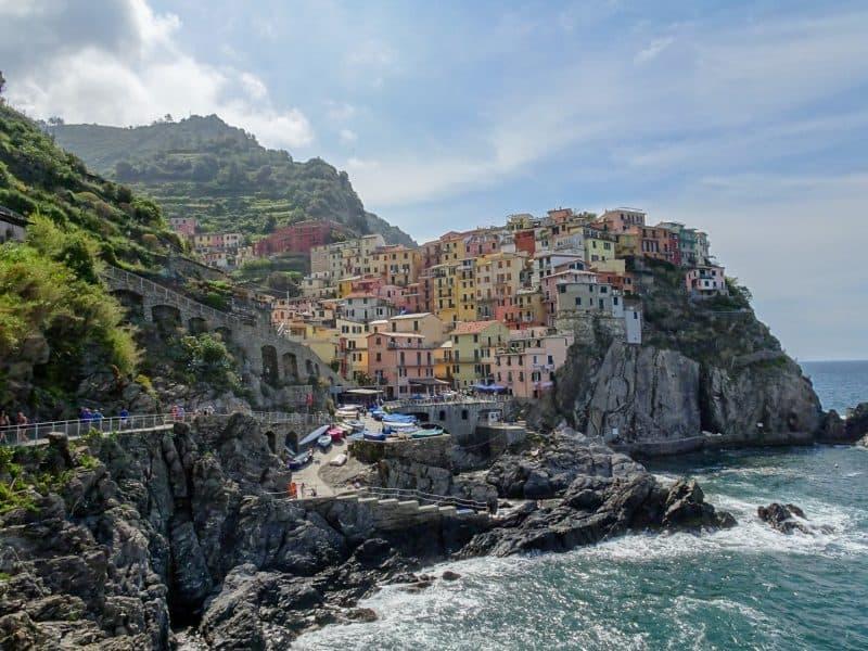 Manarola Cinque Terre - italian coastal villages