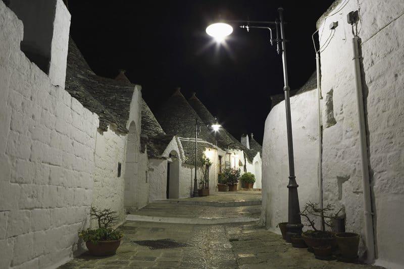 Alberobello - Trulli town in puglia southern italy
