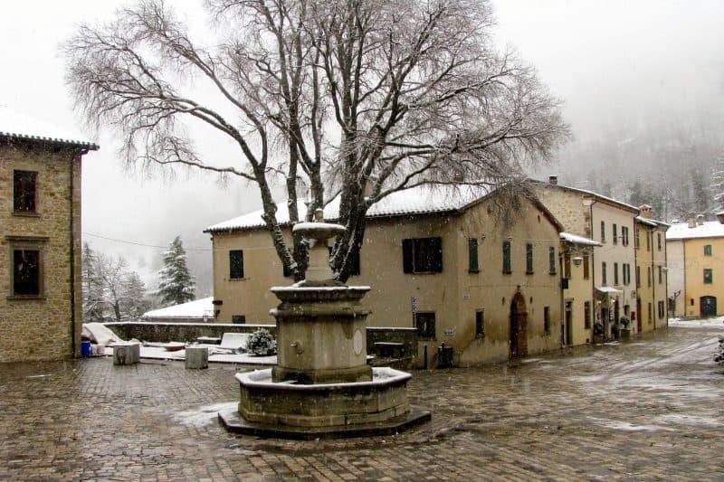 San Leo - central Italian towns