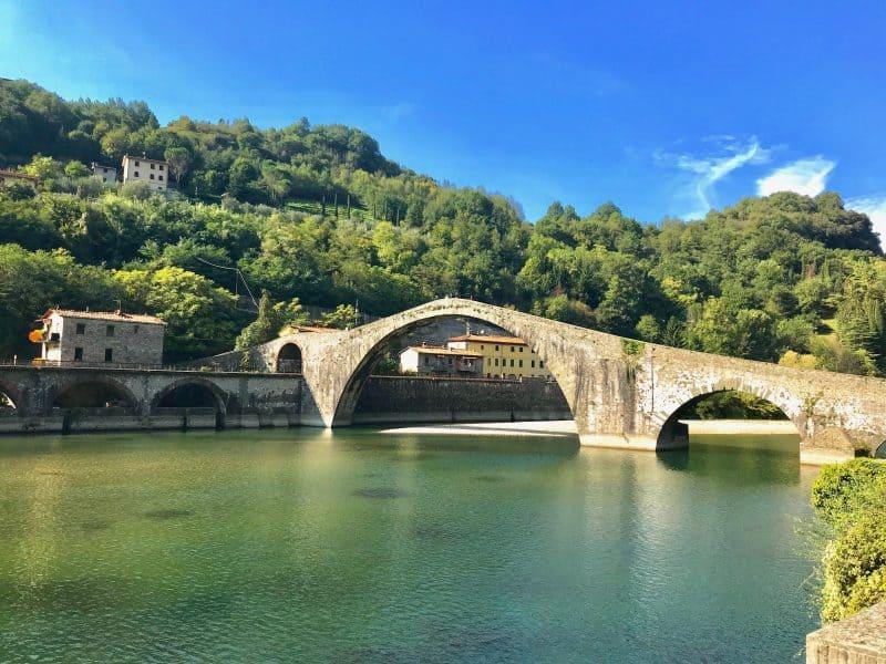 tuscany village italy - borgo a mozzano