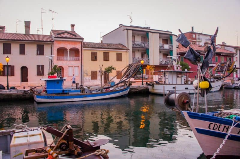 grado - northern italy coastal towns