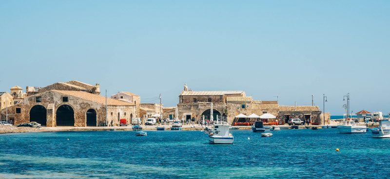 marzamemi - pretty fishing village in italy sicily