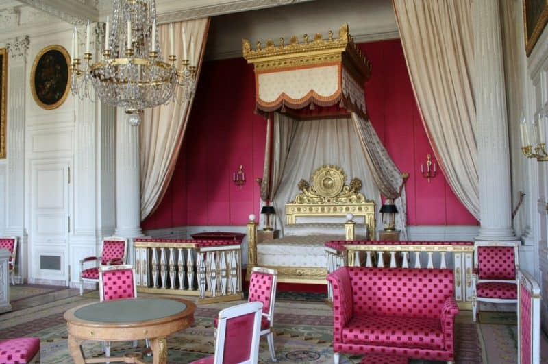 Grand Trianon bedroom - palace of versailles tour
