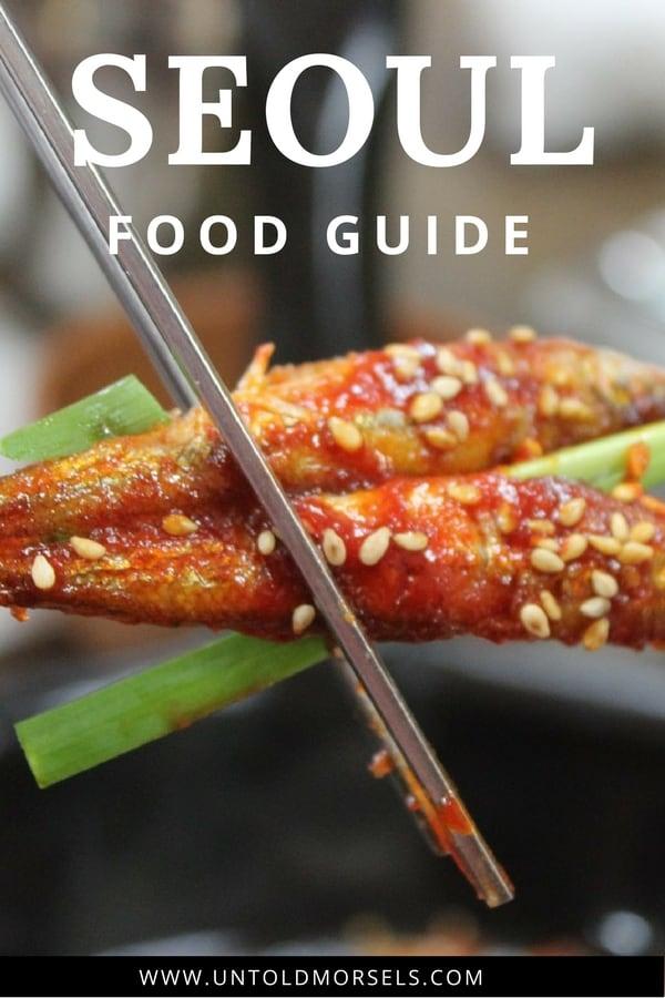 Where to eat in Seoul Korea