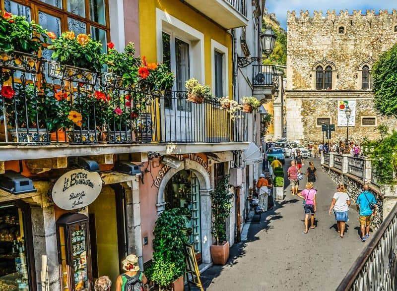 taormina - most beautiful town in sicily