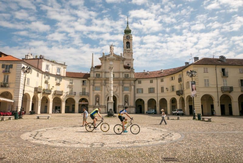 northern italy towns - venaria reale