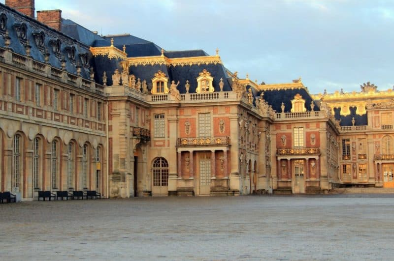 visiting versailles from paris