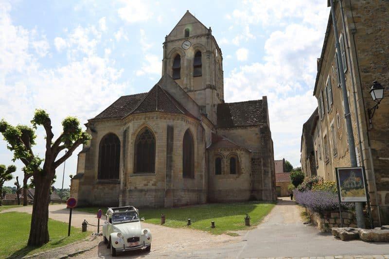 Auvers sur Oise - towns near paris
