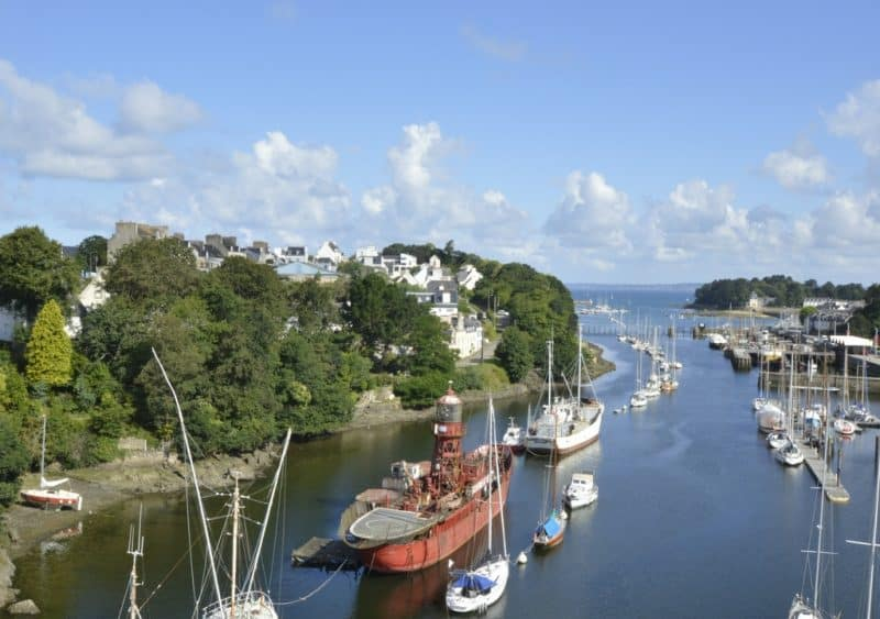 Douarnenez - charming small towns in brittany france