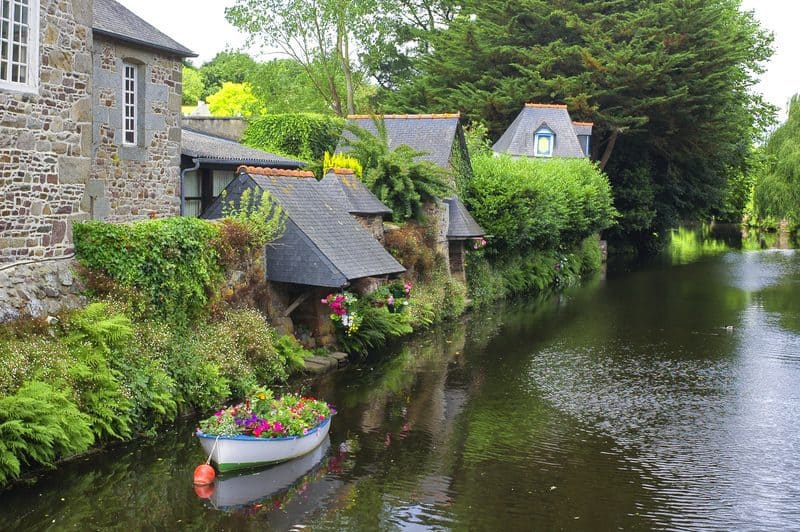 Pontrieux - a beautiful village in Brittany
