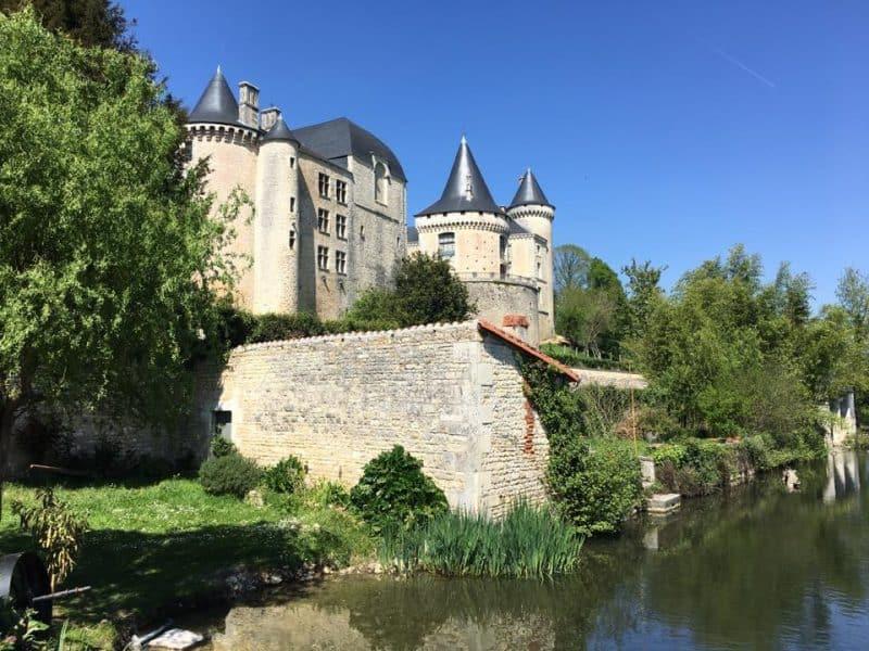 Verteuil-sur-Charente - picturesque villages in southwest France