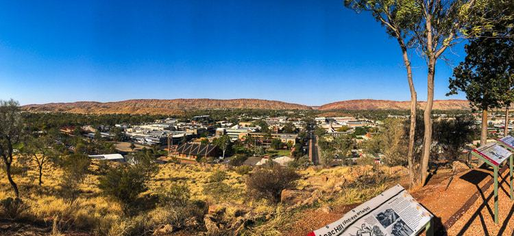 anzac hill - things to do in alice springs