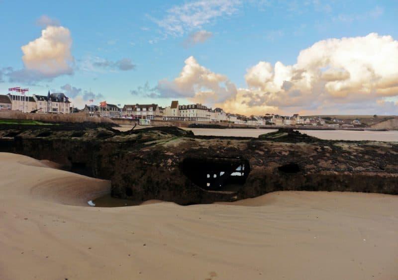 Normandy beaches towns - arromanches les bains