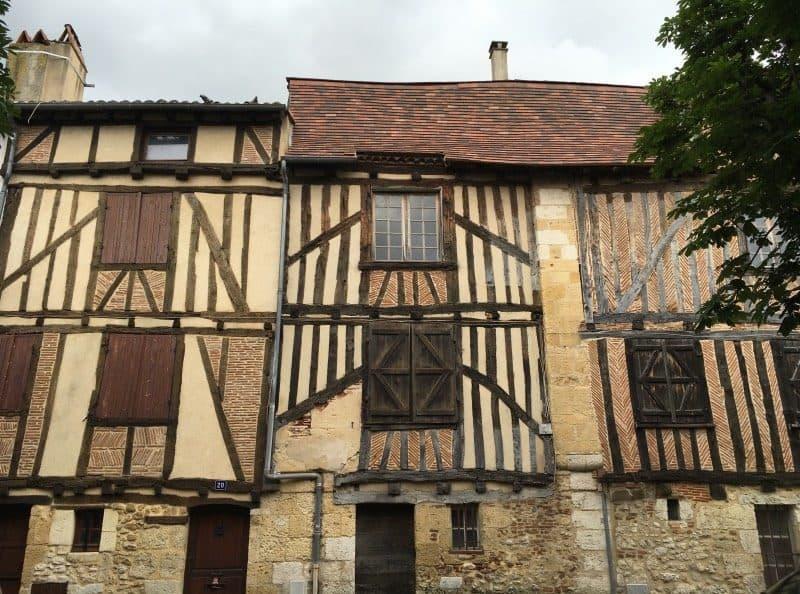 bergerac - medieval village france