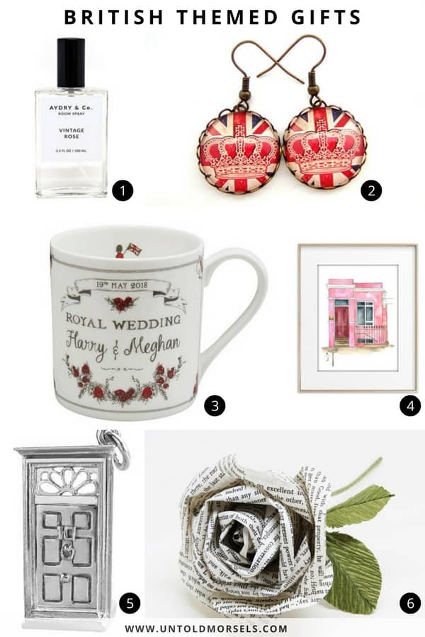 gifts for anglophiles