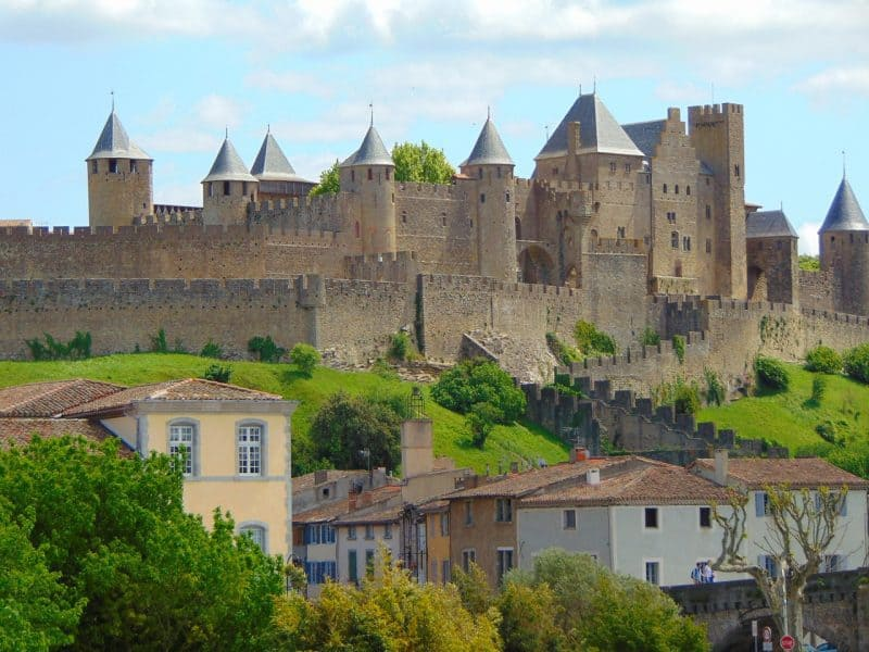 carcassonne - best places to see in france