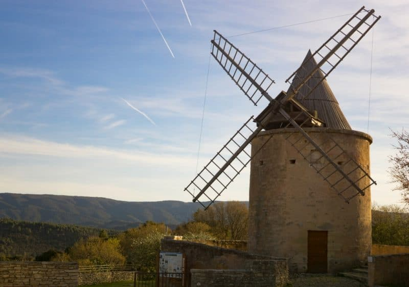 goult - villages of the luberon valley france