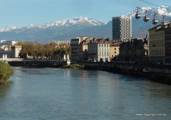 grenoble - french city near the alps