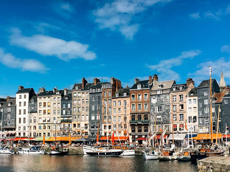 honfleur - city in northern france