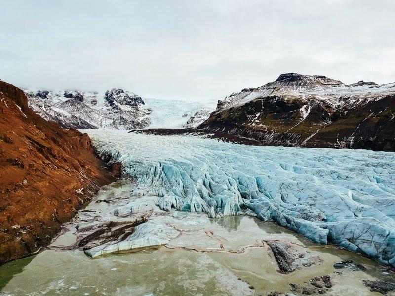 iceland glacier hiking
