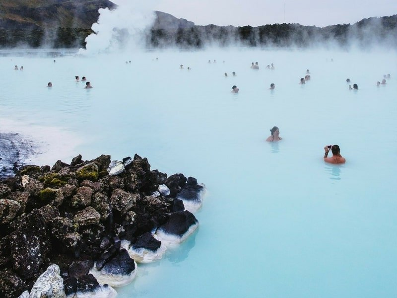 iceland thermal hot springs