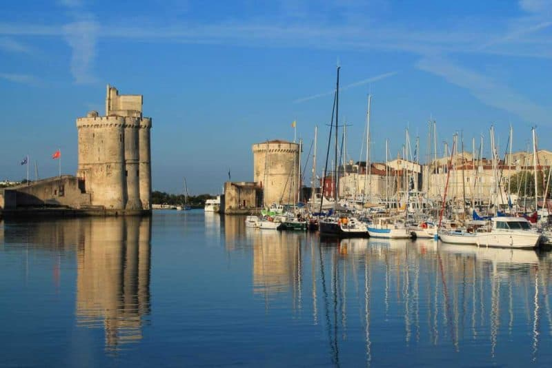 La Rochelle - french coastal cities