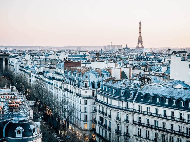 Paris - most beautiful cities to visit in france