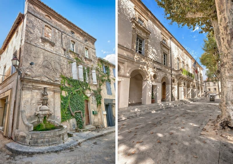 saint remy - beautiful towns in provence