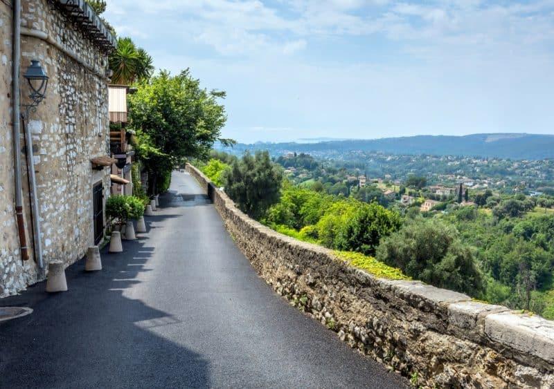 st paul de vence - towns near nice france