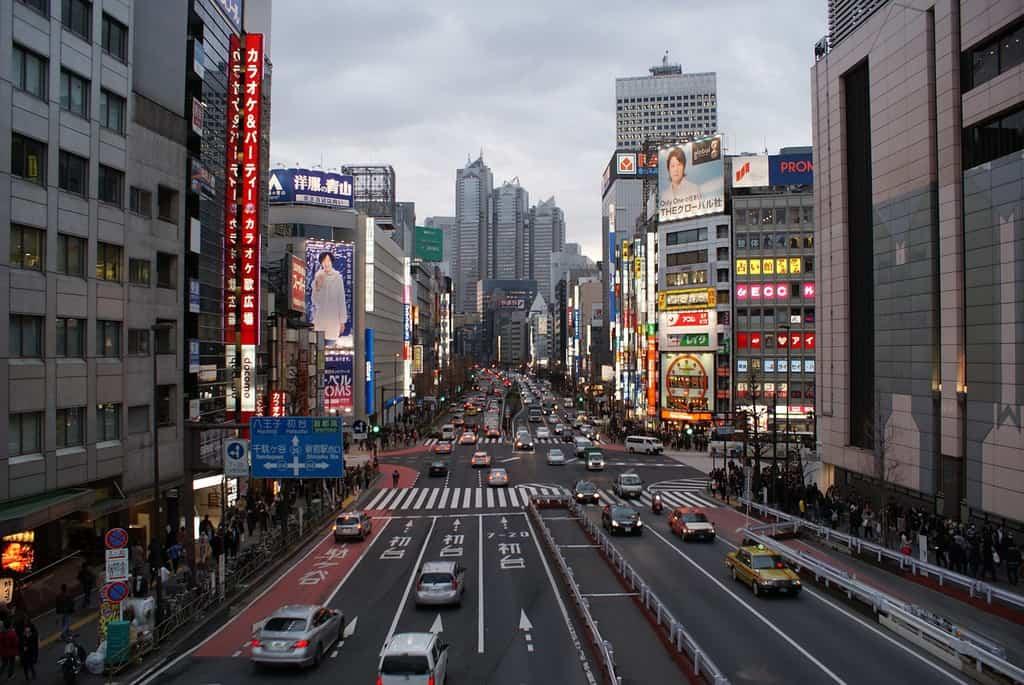 tokyo street japan