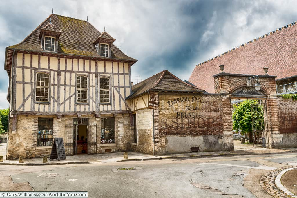 Troyes - a city in the champagne region of France