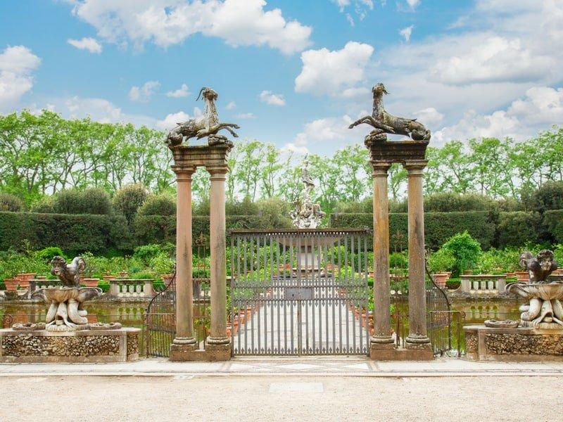 boboli gardens pitti palace florence - italy trip ideas