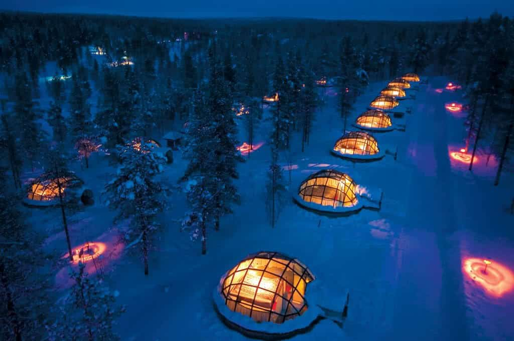 stay a glass igloo - fun things to do in finland