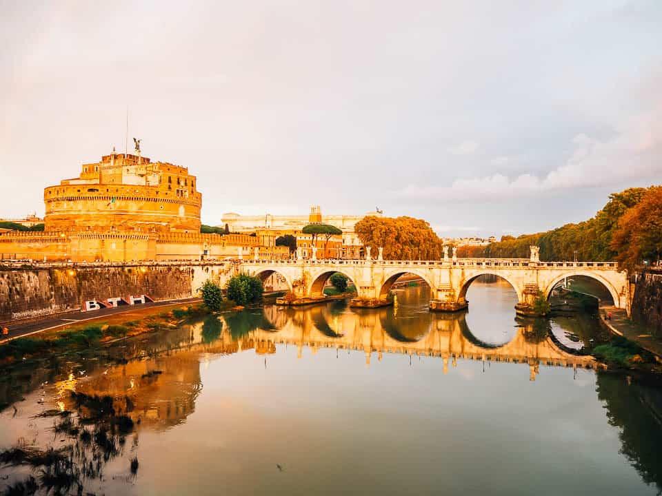 castel sant'angelo rome italy itinerary