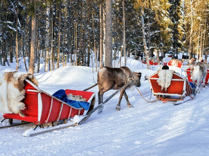 santa park Rovaniemi - top things to do in Finland