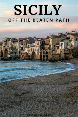 Sicily Italy - 8 beautiful places to take you off the beaten path in Sicily