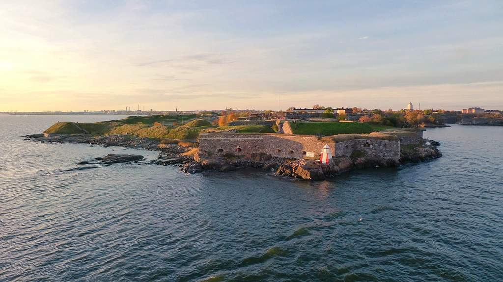 Suomenlinna - famous places in Finland