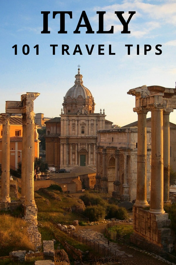 Italy travel tips - everything you need to know before you go on your Italy vacation
